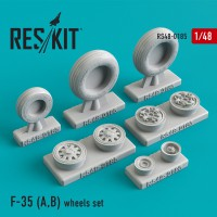 F-35 (A,B) wheels set 1/48