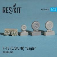 """McDonnell Douglas F-15 (C/D/J/N) """"Eagle"""" wheels set  1/72"""