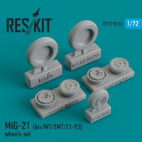 MiG-21 (bis/MT/SMT/21-93) wheels set 1/72