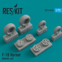 F-18 Hornet wheels set 1/72