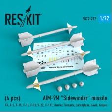 "AIM-9M ""Sidewinder"" missile 1/72"