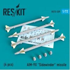 """AIM-9X """"Sidewinder"""" missile 1/72"""