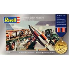Honest John Missile with car 1/54