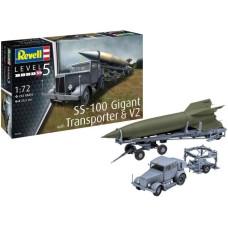 SS-100 Gigant + Transporter 1/72