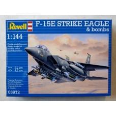 F-15E Strike Eagle + Bombs 1/144