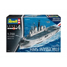 HMS Invincible Falkland war 1/700