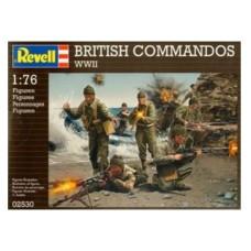 British commandos WWII 1/72