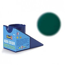 Matt dark green Revell - aqua - matt