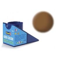 Mat donkere aarde Revell - aqua - mat
