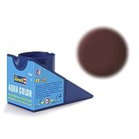 Mat lederbruin Revell - aqua - mat