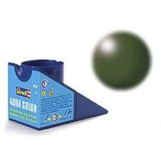 Silk olive green Revell - aqua - silk