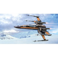 Poe's X-wing fighter 1/50