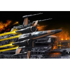 Poe's X-wing fighter Easykit