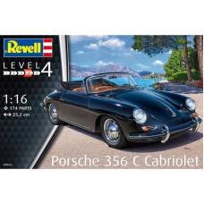Porsche 356C Cabriolet 1/16