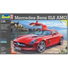 Mercedes Benz SLS AMG 1/24