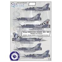 """Mirage 2000EG """"25 years 332 SQN-HAWK"""" Decals 1/72"""