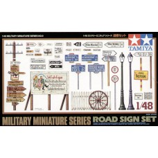road sign set 1/48