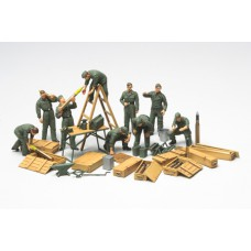 WWII German field maintenance set 1/48