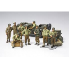 US infantry at rest 1/48