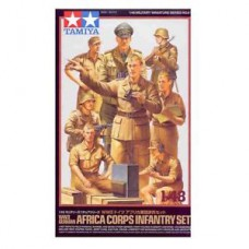WWII German Africa corps infantry 1/48