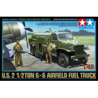 US 2 1/2 ton 6x6 airfield fuel truck 1/48