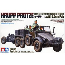 Krupp Protze 1 ton (6x4) towing truck with 3.7 cm Pak 1/35