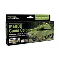 MERDC Camo colors Vallejo