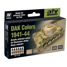 DAK colors 1941-44 Vallejo