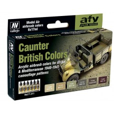 Caunter British colors Vallejo