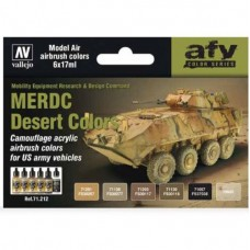 MERDC Desert Colors Vallejo