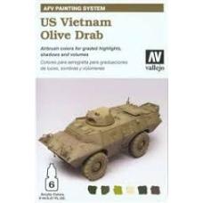 US Vietnam Olive Drab Vallejo