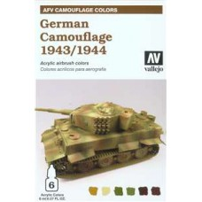 German camouflage Vallejo