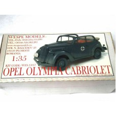 Opel Olympia Cabriolet 1/35