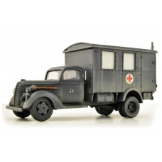 Ford 917 Steel cab shelter 1/48