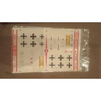Me Bf109E Decals 1/72