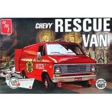 Chevy Rescue Van 1/25