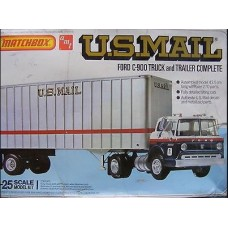 Ford C-900 Truck and trailer US Mail 1/25