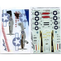 S.E. Asia Mustangs 23 FG P-51's part 2 Decals 1/48