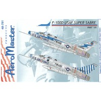 F-100D USAF Super Sabre Decals 1/48