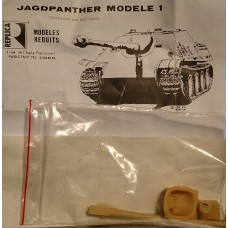 Jagdpanther Model 1 conversie 1/35