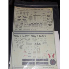 U.S. Navy - Gulf operations 1988 Decals 1/48