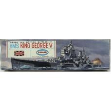 Battleship HMS King George V 1/600