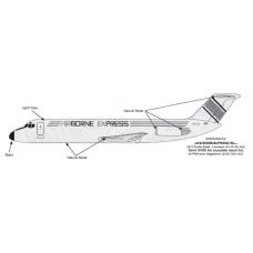 Airborne Express Douglas DC-9 Decals 1/100