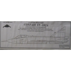 Convair TF-102A conversion 1/48