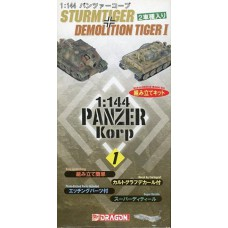 Sturmtiger + Demolition Tiger 1/144