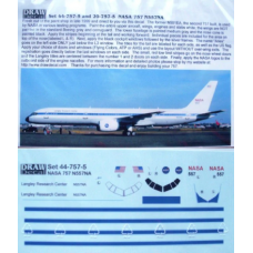 NASA 757 N557NA Decals 1/144