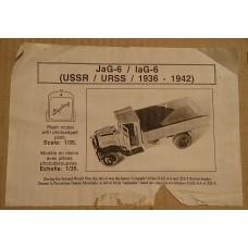 JaG-6 / IaG-6 (USSR / URSS / 1936 - 1942) 1/35