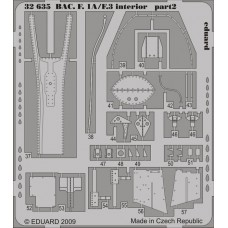 BAC Lightning F1A/F3 interior 1/32