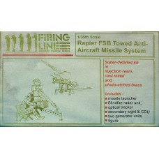 rapier FSB towed AA Missile system 1/35