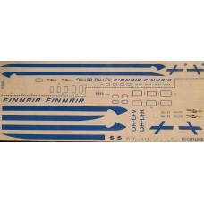 DC8 - Finnair Decals 1/144